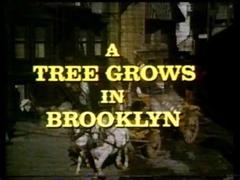 tree grows  brooklyn  cliff robertson diane