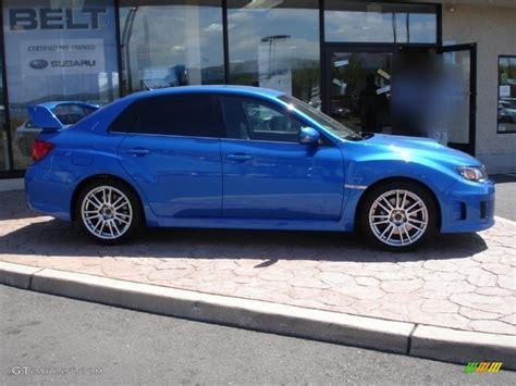subaru wrx custom blue wr blue mica 2011 subaru impreza wrx sti exterior photo