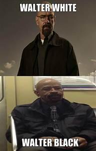 "Walter White- "" I Am The Danger! "" Walter Black-"" No, I Am ..."