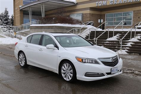 review  acura rlx sport hybrid canadian auto review