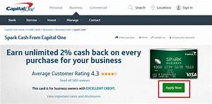 apply for a capital one spark business credit card With capitalone business credit card