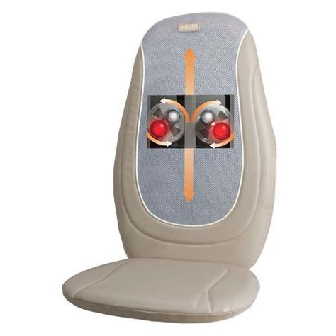 Homedics Chair Massager Mcs 510h by Homedics Mcs 210h Shiatsu Cushion 2 Heads