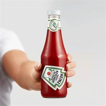 Heinz Ketchup Bottle Packaging Perfectly Sauce Angle