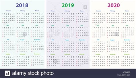 printable calendar stock printable calendar stock images alamy