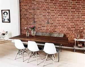 Rohe Wände Streichen : wie lebt es sich mit einer backsteinwand wir haben nachgefragt ~ Orissabook.com Haus und Dekorationen