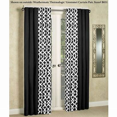Grommet Trellis Curtains Curtain Touchofclass Thermalogic Insulated
