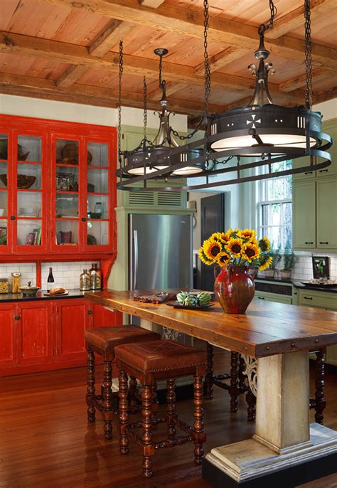31 Cool And Colorful Kitchens