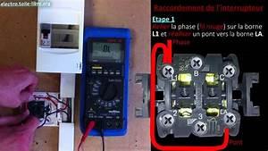 Double Va Et Vient : raccorder un double allumage moulure interrupteur double ~ Nature-et-papiers.com Idées de Décoration