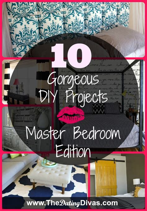 These diy ideas range from easy to expert, with inspiration for every room in your home. 10 Gorgeous DIY Projects   Master Bedroom Edition