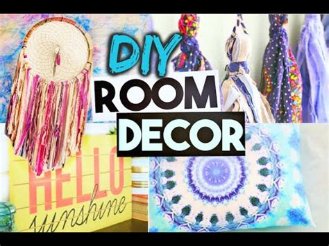 diy room decor projects  summer youtube