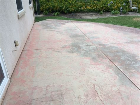 how to restore a sted concrete patio newlook