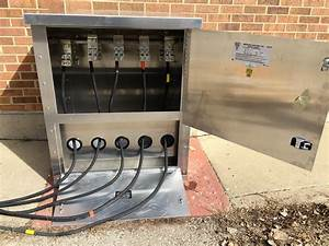 Pad Mounted Generator Connection Box