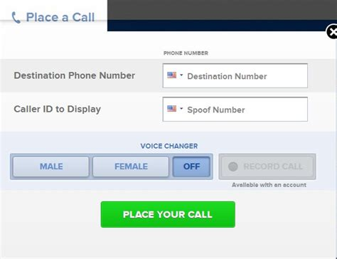 how to stop phone spoofing free spoof calls caller id spoofing no cost trials