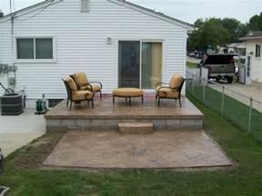 Small Concrete Patio Design Ideas