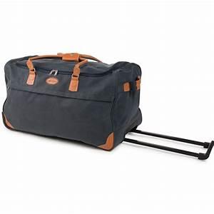 Reisetasche Auf Rollen : xxl reisetasche mit 2 rollen leder look trolley sporttasche trolly tasche xl bag ebay ~ Markanthonyermac.com Haus und Dekorationen
