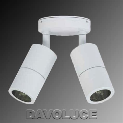 hv1337 white double adjustable led wall light from