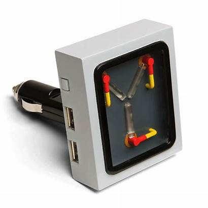 Flux Capacitor Charger Usb Gadgets Future Wristwatch