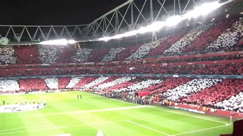 great atmosphere  emirates  arsenal bayern