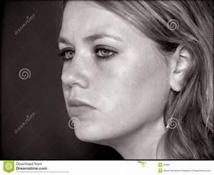 Fille Noir Et Blanc : le visage de la fille de l 39 adolescence en noir et blanc ~ Melissatoandfro.com Idées de Décoration