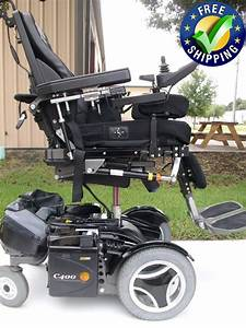Permobil C400 Power Chair With Tilt  Recline  Legs  U0026 Seat Lift