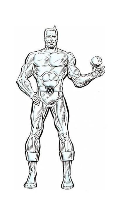 Iceman Marvel Drake Bobby Ice Comics Uncannyxmen