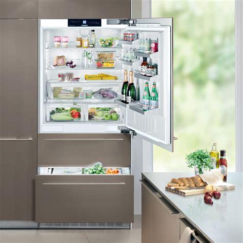 cabinet in the kitchen liebherr ecbn 5066 integrated fridge freezer designed 5066