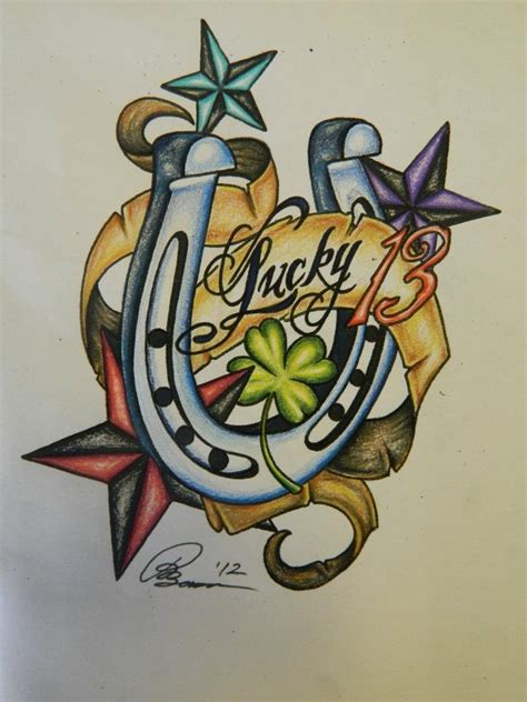 images   tattoo lucky  tattoo designs