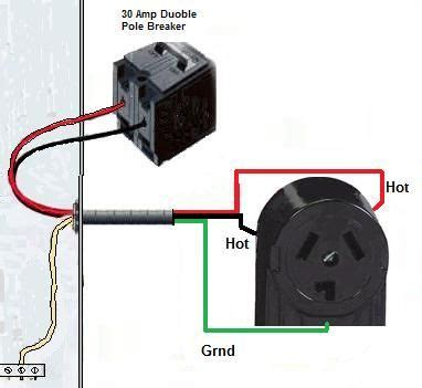 Prong Dryer Outlet Wiring Diagram Electrical