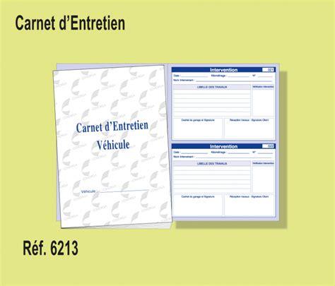 carnet d entretien v 233 hicule conorga - Carnet D Entretien