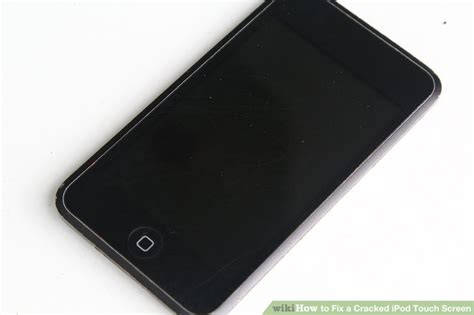 fix  cracked ipod touch screen  steps