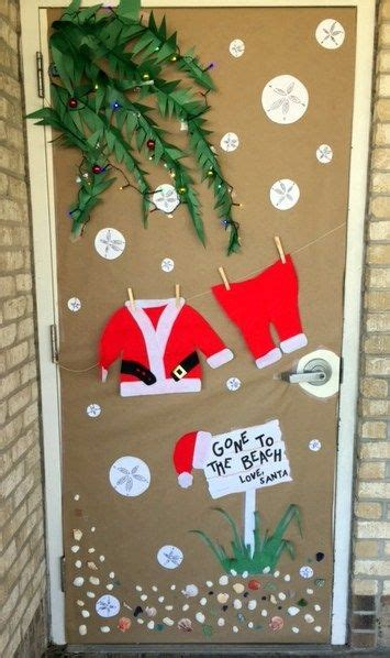 school holiday door decorating contest educational blogs