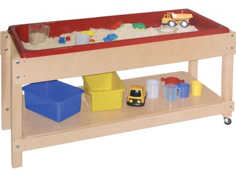 how to sand a table large wooden sand and water table with lid shelf 46x17