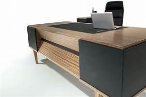 Schreibtisch Aus Holz : schreibtisch aus holz futuristisch ~ Whattoseeinmadrid.com Haus und Dekorationen