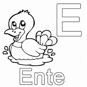 Kleine Rechnung Mit 4 Buchstaben : ausmalbild buchstaben lernen kostenlose malvorlage e wie ~ Themetempest.com Abrechnung