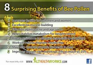 The Top 8 Health Benefits Of Bee Pollen  U2013 Nutritional Support  Allergy Benefits And More