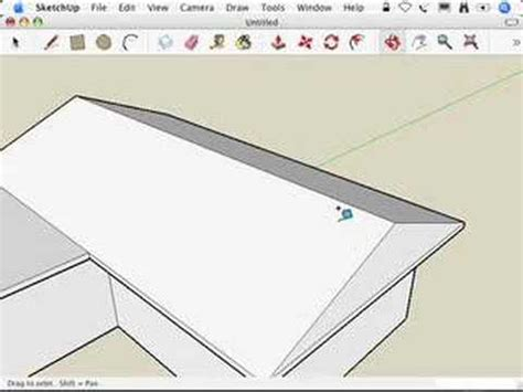 How To Make A Hip Roof by Sketchup Hip Roofs