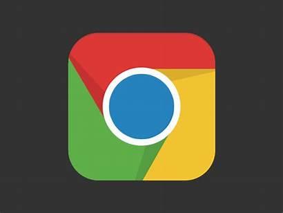 Chrome Google Icon Ios Animated Dribbble Android