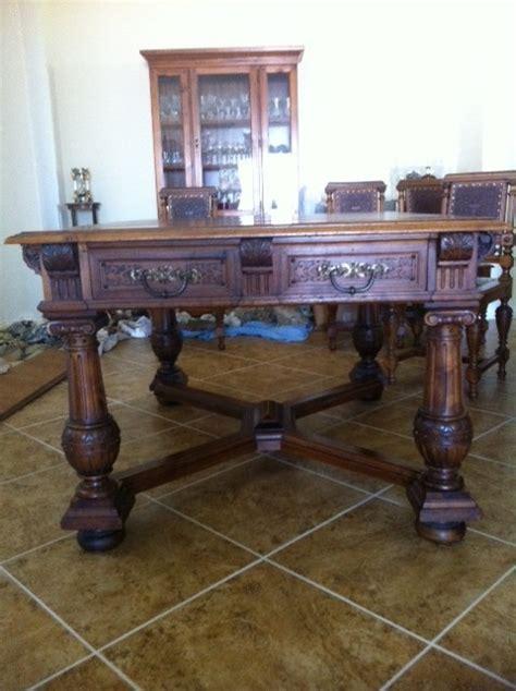 saginaw watertown slide table my antique furniture