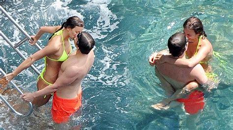 Irina Shayk And Bradley Cooper Goes Hot In Sea Youtube