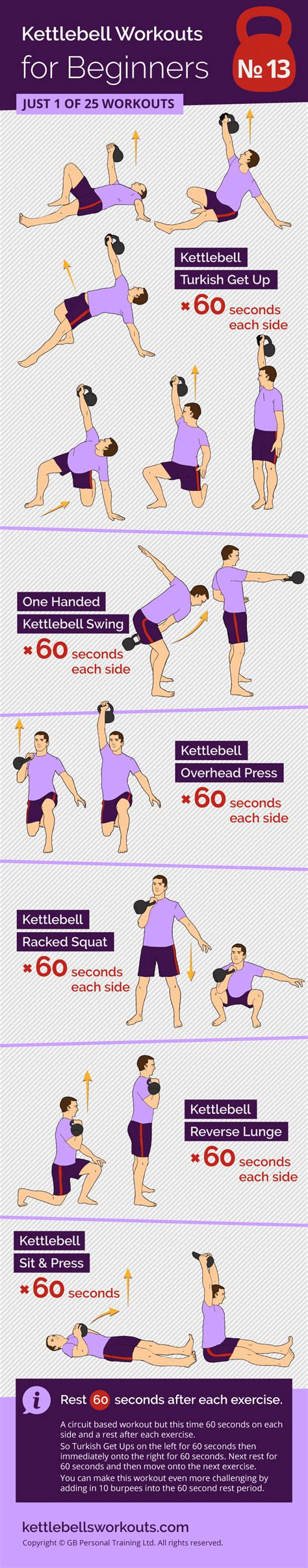 kettlebell circuit exercises workouts beginners
