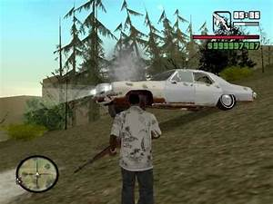 GTA San Andreas Ghost Car Mod Bug - YouTube