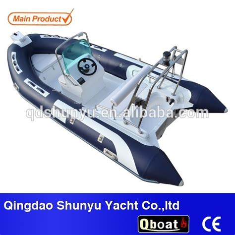 Small Zodiac Boat With Motor by 4 7m Rib Boat With Outboard Motor Buy Rib