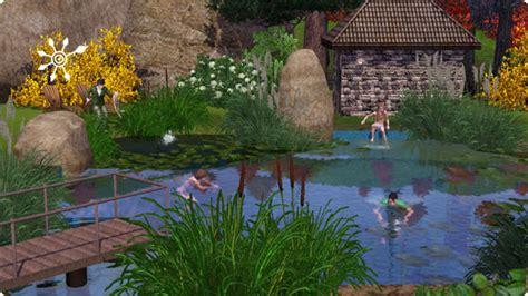 Sims 3 Tutorial Badesee Und Schwimmteich Bauen