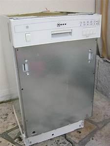 Neff teilintegrierbare spulmaschine geschirrspuler for Neff spülmaschine