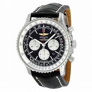 Breitling Navitimer 01 Chronograph Black Dial Black ...