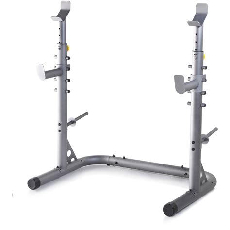 golds gym workout squat rack bench power weight stand lifting home training  ebay