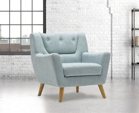 Duck Egg Blue Armchair by Mitcham Duck Egg Blue Occasional Chair