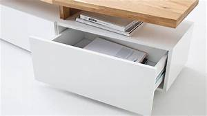 Tv Board Weiß Eiche : tv lowboard sophie tv board unterschrank wei matt lack eiche massiv ~ Somuchworld.com Haus und Dekorationen