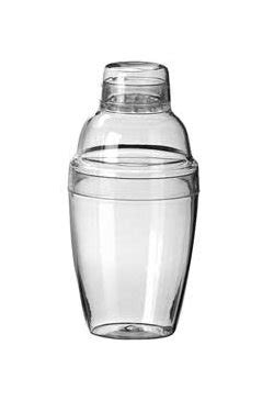 plastic cocktail shaker 7 oz plastic cocktail shaker 1535