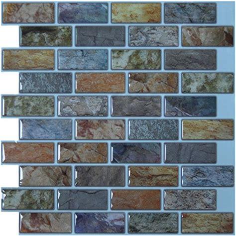 peel and stick tile ceramic tile art3d 12 quot x 12 quot peel stick kitchen back splash wall